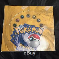 Factory Sealed WIZARDS OF THE COAST Pokemon Base Set Booster Box WOTC