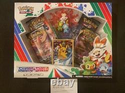 Factory sealed Pokemon Sword & Shield Figure Box- WithMINT SWSH 020 PIKACHU PROMO