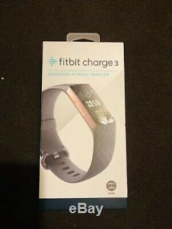 Fitbit Charge 3 New In Factory Sealed Box