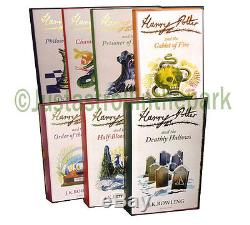 Harry Potter Official UK Hardcover Signature Edition Box Set, Factory Sealed NEW