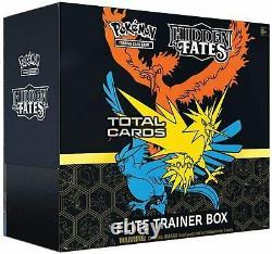 Hidden Fates Elite Trainer Box ETB Pokemon NEW FACTORY SEALED