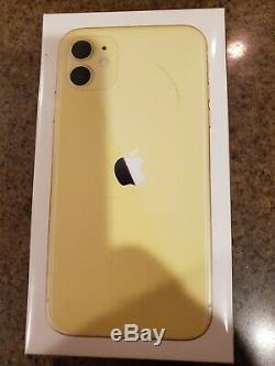 IPhone 11. Yellow. 128gb. Factory sealed. Brand new in box