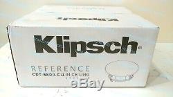 Klipsch CDT-5800-C II In-Ceiling Pivoting Speaker Each. Factory-Sealed Box