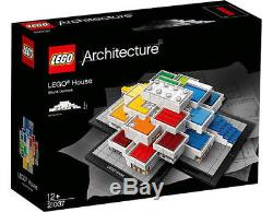 LEGO Architecture 21037 LEGO House Billund Denmark FACTORY SEALED / NEW