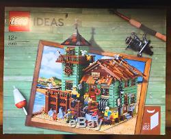 LEGO Ideas Old Fishing Store Set 2017 (21310) New Factory Sealed Retired NIB
