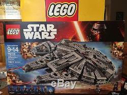 LEGO STAR WARS MILLENNIUM FALCON SET 75105 NEW FACTORY SEALED BOX
