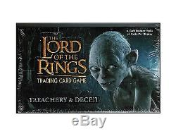 LotR TCG Treachery and Deceit T&D Booster Box Factory Sealed 36 packs