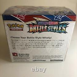 Lot of 10 Pokemon Sword & Shield BATTLE STYLES Factory Sealed Booster Box New