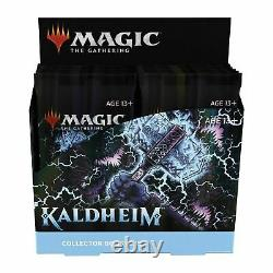 MTG Magic the Gathering Kaldheim Collector Booster Box Factory Sealed SHIPS 2/5