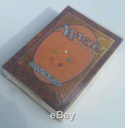 Magic The Gathering Factory Sealed Alpha Starter / MTG 1993 Rare