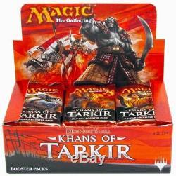Magic the Gathering (MTG) Khans of Tarkir Factory Sealed Booster Box