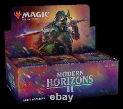 Modern Horizons 2 Draft Booster Box MTG Magic the Gathering New SEALED SHIP 6-18