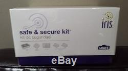 NEW! Iris Safe and Secure Kit Home Security Kit FACTORY SEALED BOX