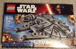 NEW Lego Star Wars 75105 Millennium Falcon Toy BOX 1329 Pcs FACTORY SEALED