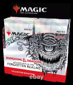 NEW MTG Adventures in the Forgotten Realms Collector Booster Box Factory Sealed