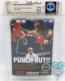 Nes Mike Tyson's Punch-out Rev-a Round Soq Factory Sealed Wata 8.5 A+