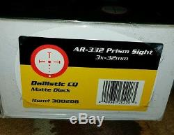 New Burris AR-332 Prism Sight in factory sealed box