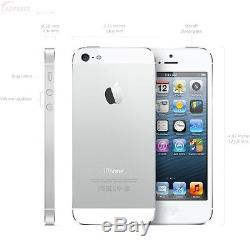 New In Sealed Retail Box Factory GSM Unlocked Apple iPhone 5S 32GB Silver