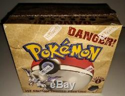 POKEMON Factory Sealed 1st Edition Ltd Print Fossil Booster Box (36 packs)