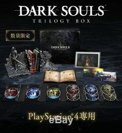 PS4 DARK SOULS LIMITED TRILOGY BOX With Bust Figure Factory Sealed