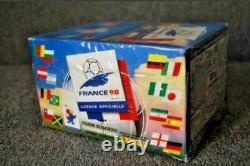 Panini FIFA Box 1998 FRANCE World Cup RONALDO ZIDANE HENRY ROOKIE FACTORY SEALED