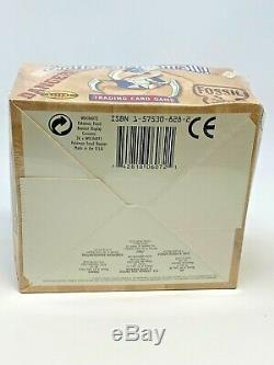 Pokémon 1999 FOSSIL Booster Box FACTORY-SEALED New ENGLISH 36 Packs WOTC Rare