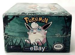 Pokemon 1999 Unlimited Edition Jungle Booster Box Factory Sealed FREE SHIPPING