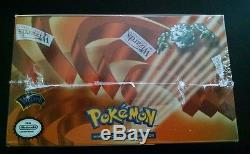 Pokemon 1ST EDITION GYM HEROES Booster Box Factory SEALED 36 packs Base