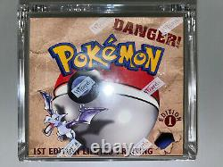 Pokemon- 1st Edition Fossil Booster Box- Factory Sealed- Investment Quality