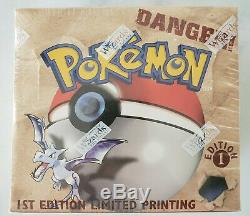 Pokemon 1st Edition Fossil Booster Box Unlimited FACTORY SEALED WOTC 1999