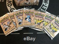 Pokemon 1st Edition Fossil Booster Pack From Factory Sealed Box