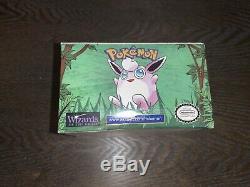 Pokemon 1st Edition JUNGLE Booster Box (ENGLISH) Factory Sealed WOTC NICE