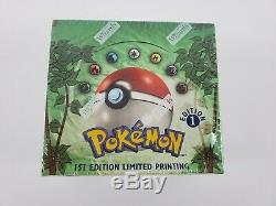 Pokemon 1st Edition Jungle Booster Box English Factory Sealed 100% Authentic