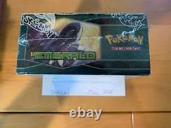 Pokemon 2005 Vintage EX Emerald Factory Sealed Booster Box
