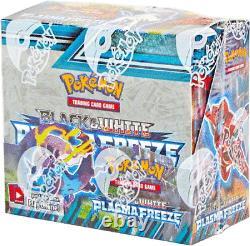 Pokemon BW PLASMA FREEZE Factory Sealed Booster Box with36 packs FAST FREE SHIP