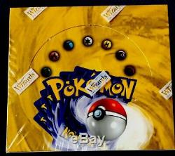 Pokemon Base Set 1999 Unlimited Booster Box (36 Packs)factory Sealed / Brand New