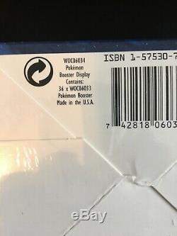 Pokemon Base Set Booster Box 1999 Factory Sealed 36 Card Packs WOTC Brand New