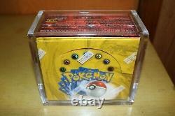 Pokemon Base Set Booster Box FACTORY SEALED
