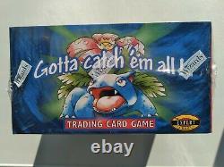 Pokemon Base Set Booster Box Factory Sealed 1999 WOTC-TCG. Blue Wing Charizard
