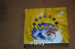 Pokemon Base Set Booster Box Factory Sealed Excellent++ Condition