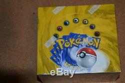 Pokemon Base Set Booster Box Factory Sealed Excellent Condition