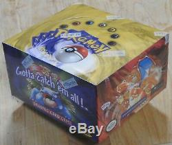 Pokemon Base Set Sealed Booster Box New (1999) Factory Sealed WOTC