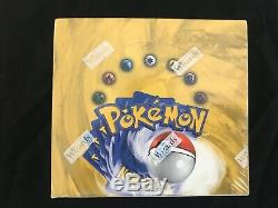Pokémon Base Set Unlimited 1999 Booster Box Of 36 FACTORY SEALED