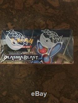 Pokemon Black and White Plasma Blast Factory Sealed Booster Box
