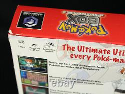 Pokemon Box Ruby & Sapphire Nintendo GameCube GC New Factory Sealed Holy Grail