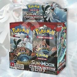 Pokémon CRIMSON INVASION Booster Box FACTORY SEALED 36 Packs