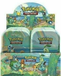 Pokemon Celebrations Mini Tin Display (8 tins) Factory Sealed IN HAND