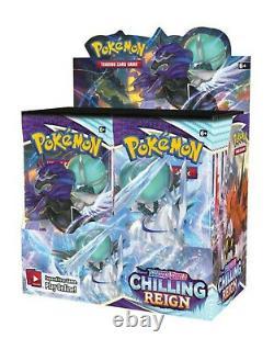 Pokemon Chilling Reign Booster Box Factory Sealed 36 Packs PRESALE 6/17