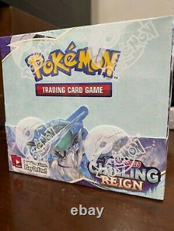 Pokemon Chilling Reign Booster Box Factory Sealed Brand NEW Ships NOW