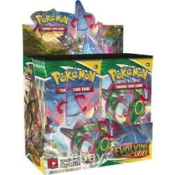 Pokemon EVOLVING SKIES Booster Box Factory Sealed 36 Packs PRESALE